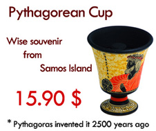 Pythagorean Cup – Wise souvenir from Samos Island
