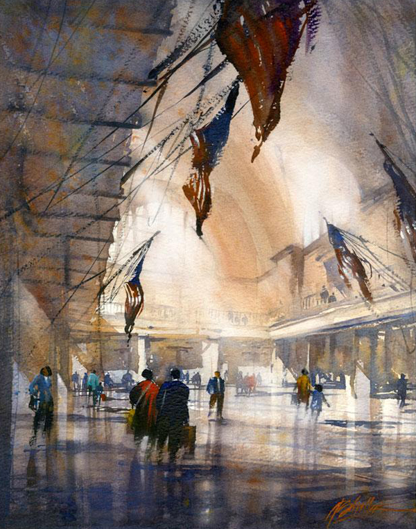 Watch the flags wave By Thomas Schaller