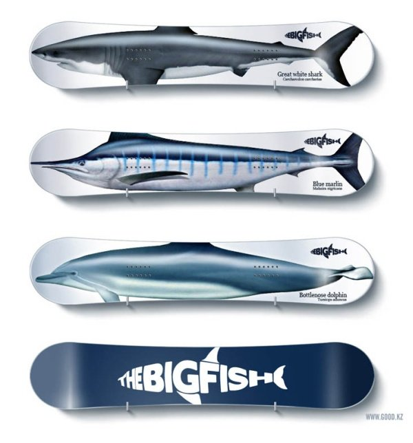 Bigfish Snowboard by Good.KZ