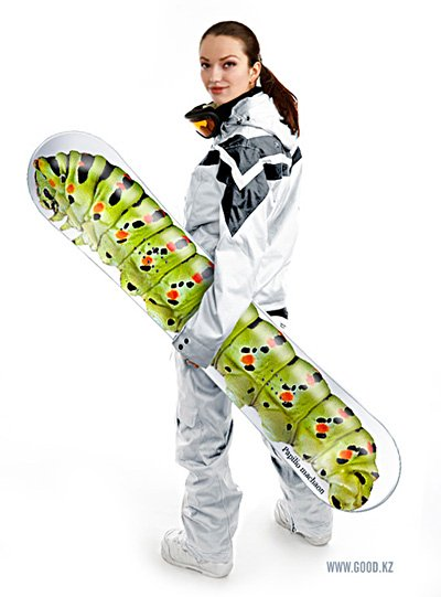 Caterpillar Snowboard by Good.KZ
