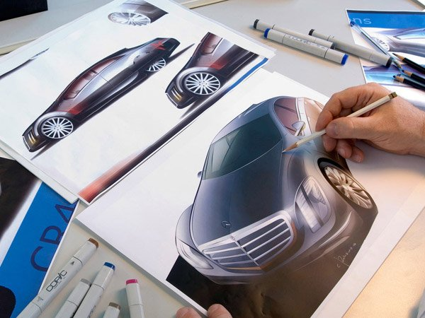 Design Studio of Mercedes-Benz in Como, Italy