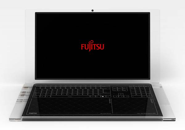 Sun-kissed Ready Notebook from Fujitsu