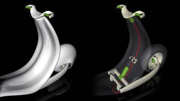 Vespa from designer Niklas Wagner