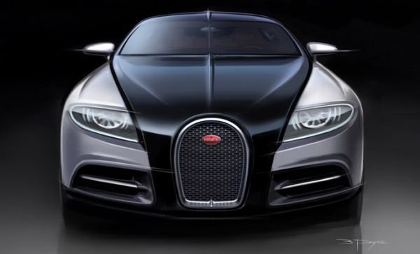 Bugatti Galibier will be released in mass production