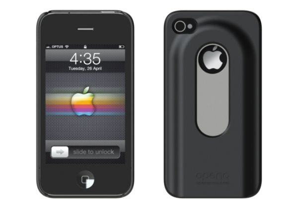 Cover-opener for the iPhone 4