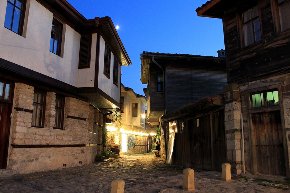 Nessebar - A harmony of ancient beauty and modern life, old town