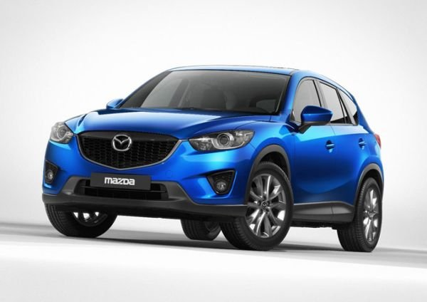 The new crossover Mazda CX-5