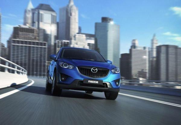 The new crossover Mazda CX-5