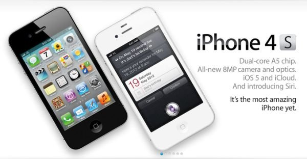 Presentation of the new iPhone 4S