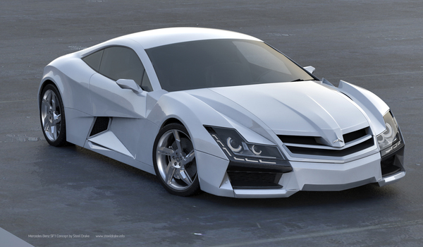 Mercedes Benz SF1 - Final Concept Design