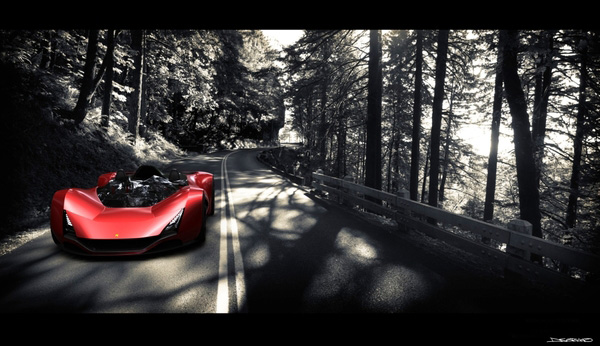 On the Road with the Ferrari Aliante