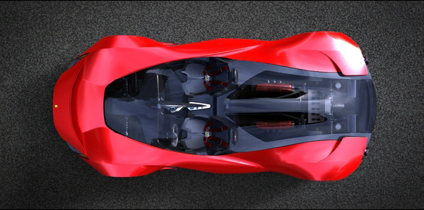 The Ferrari Aliante - From The Top