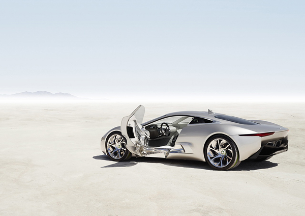 Limited Edition Jaguar C-X75