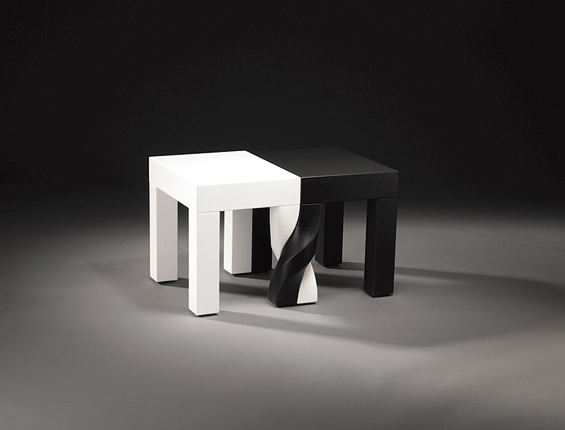 Intertwined Stools by Kan and Lau Design