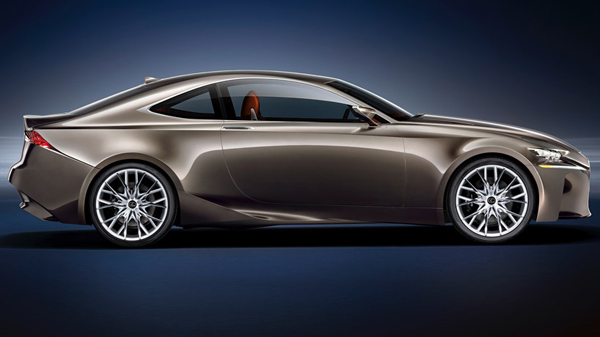 The Lexus LF-CC Hybrid