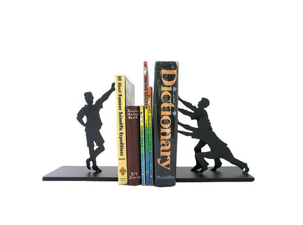 Child's Play Heavy Metal Bookends