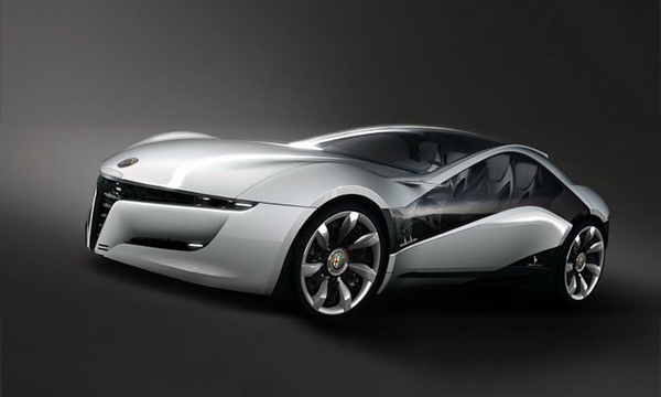 The 2010 Alfa Romeo Pandion by Bertone