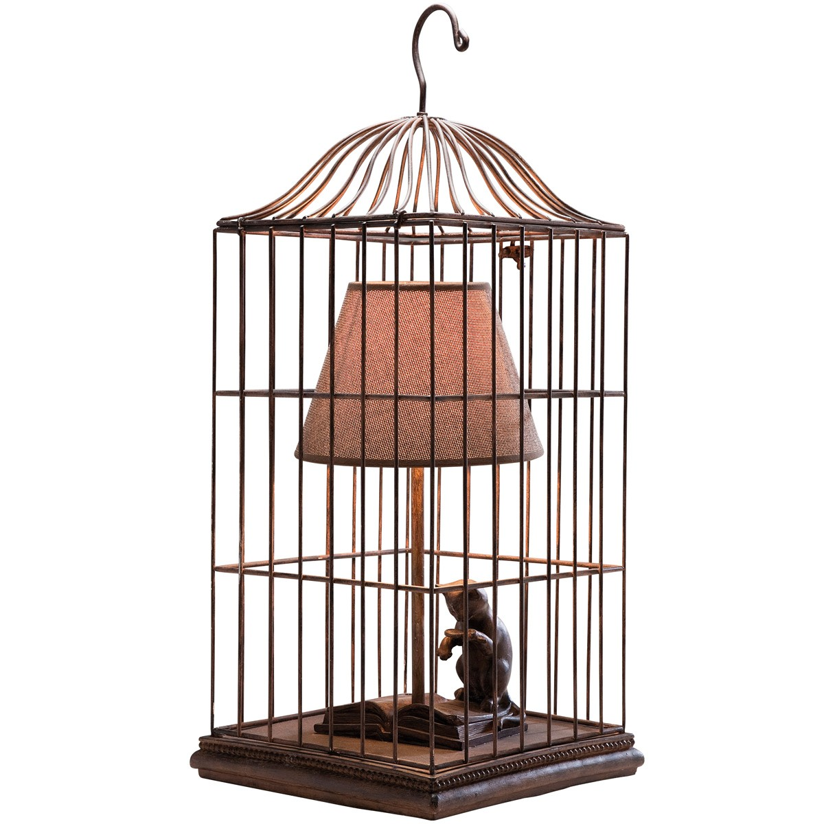 Cat In A Cage Table Lamp Boofos