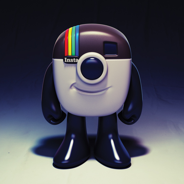 The Concept for the Instagram Logo Mascot