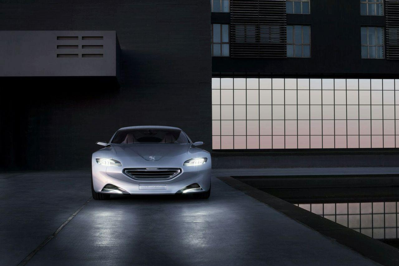 Peugeot SR1 - A more realistic front end.