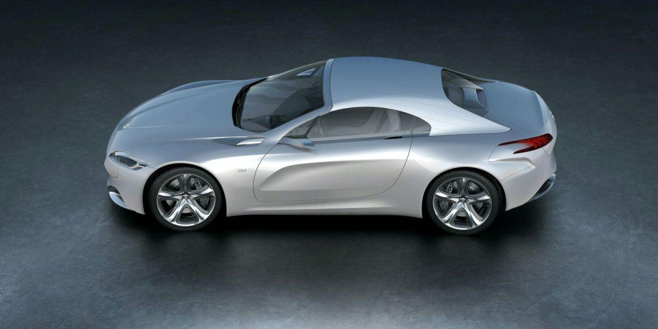 Peugeot SR1 - Contoured door panels.