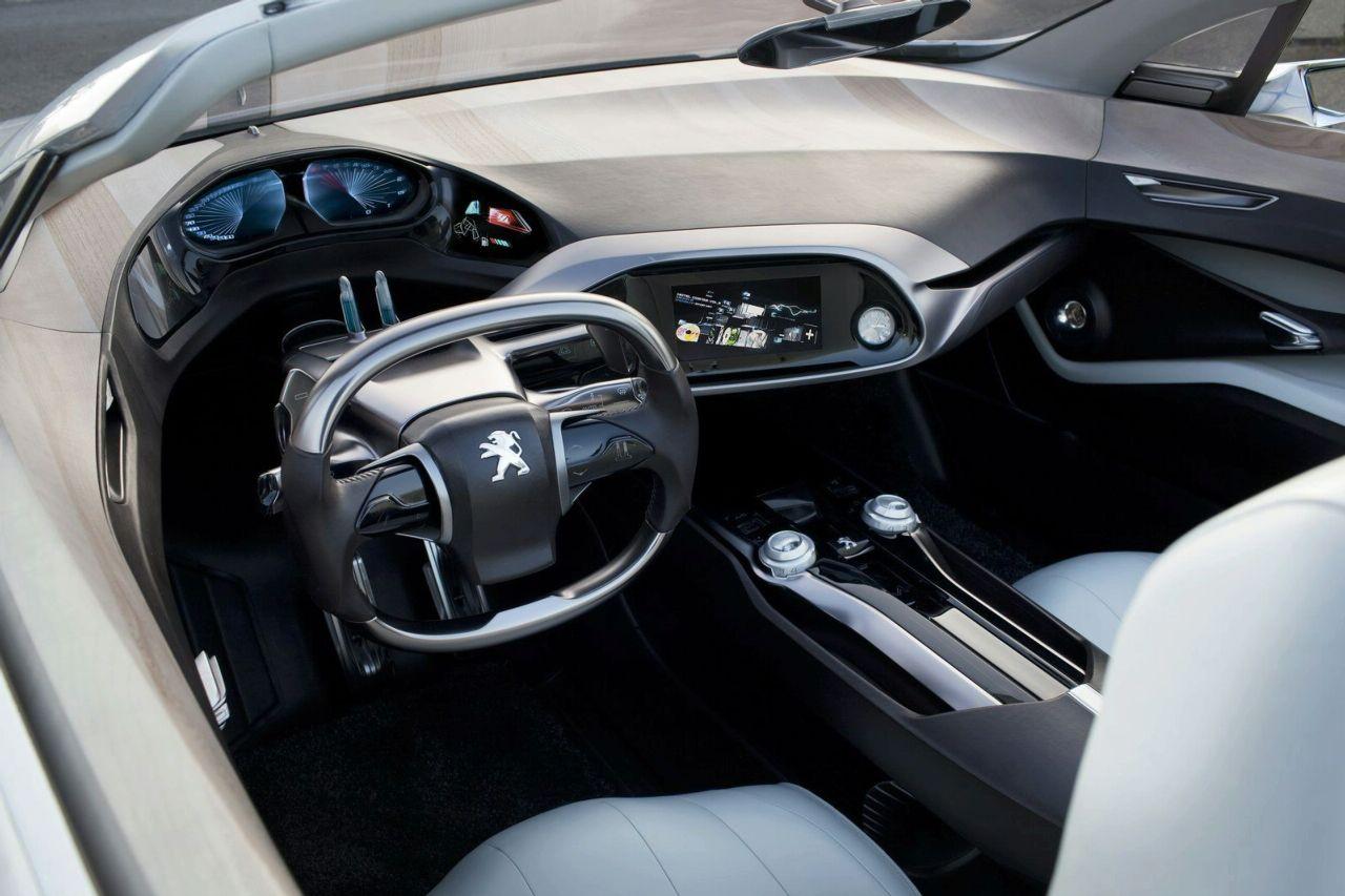 Peugeot SR1 - Clever dials.