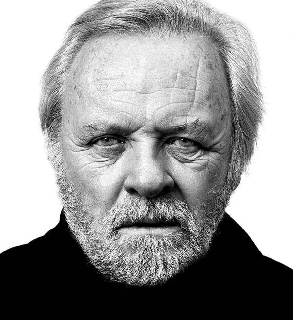 Anthony Hopkins - Celebrity Portraits by Andy Gotts