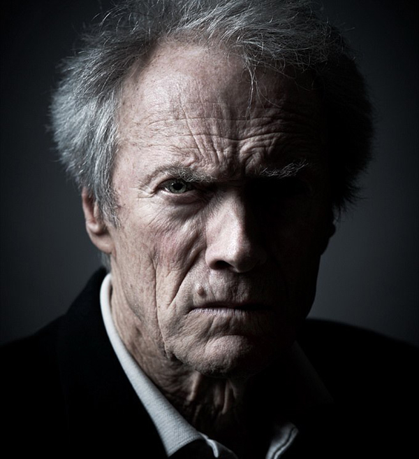 Clint Eastwood - Celebrity Portraits by Andy Gotts