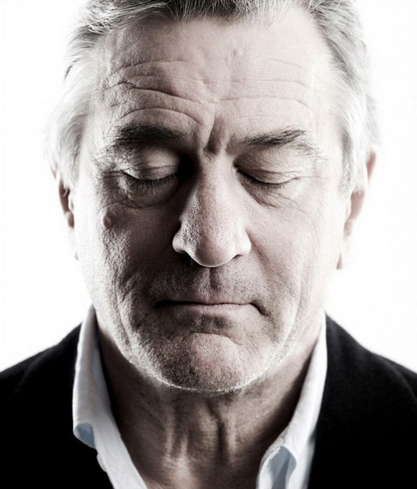 Robert DeNiro - Celebrity Portraits by Andy Gotts