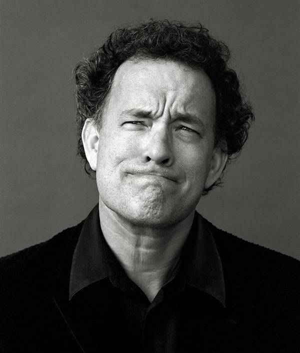 Tom Hanks - Celebrity Portraits by Andy Gotts