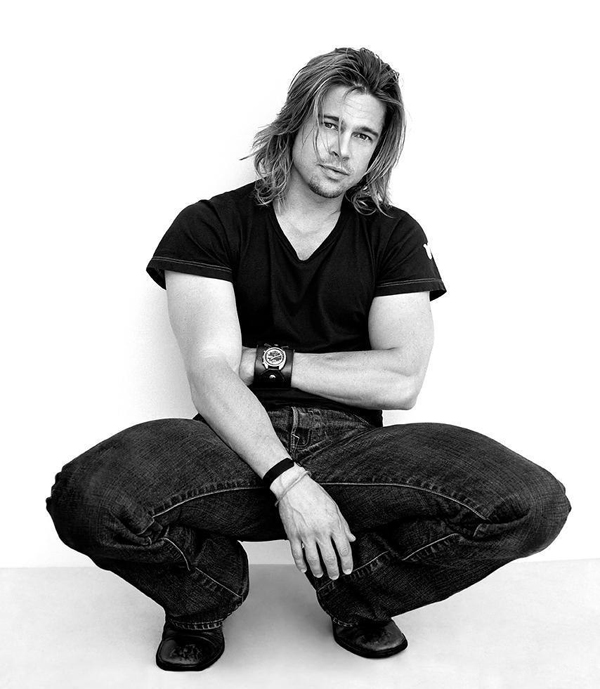 Brad Pitt - Celebrity Portraits by Andy Gotts