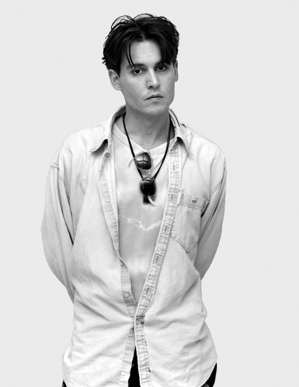 Johnny Depp - Celebrity Portraits by Andy Gotts