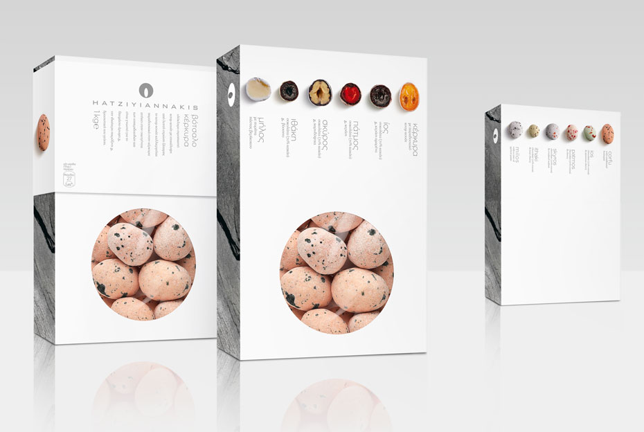Classy packaging for the answer to a sweet craving - Hatziyiannakis Dragees Packaging