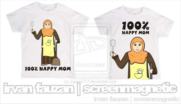 100% Happy Mom by cupenk777