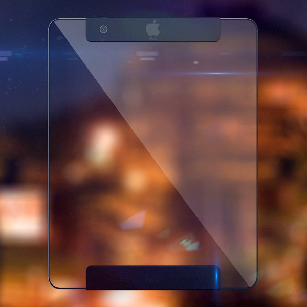 Next iPad - A transparent iPad.