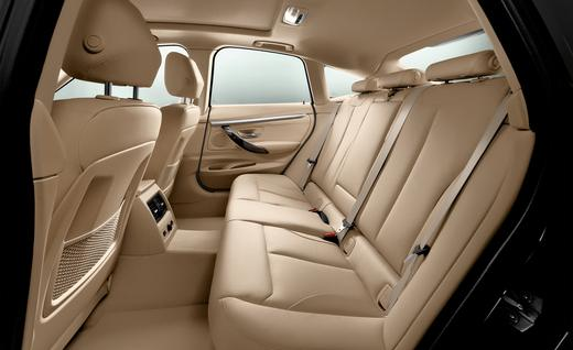 Adjustable rear seats can hold more cargo.