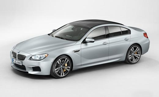 The 2014 BMW M6 Gran Coupe