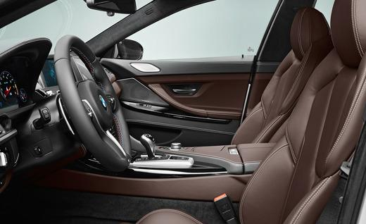 Luxurious interior - 2014 BMW M6 Gran Coupe