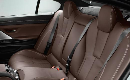 Roomy and space-generous - 2014 BMW M6 Gran Coupe