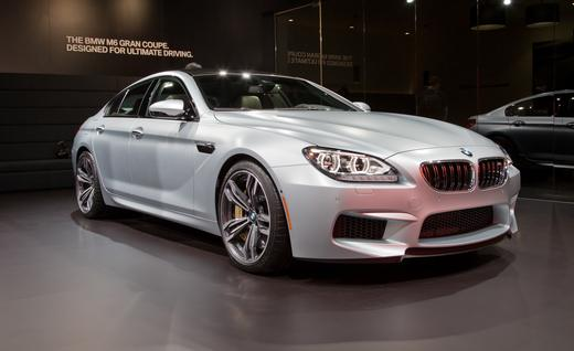 The 2014 BMW M6 Gran Coupe sedan.