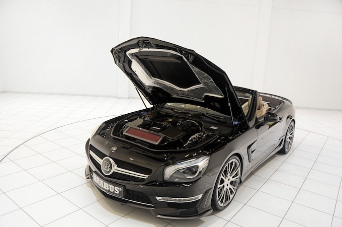 A masterpiece, inside and out - Brabus 800 Roadster
