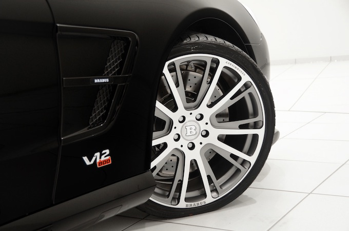 Alloy wheels - Brabus 800 Roadster