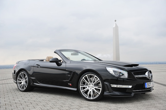 Ride in style - Brabus 800 Roadster