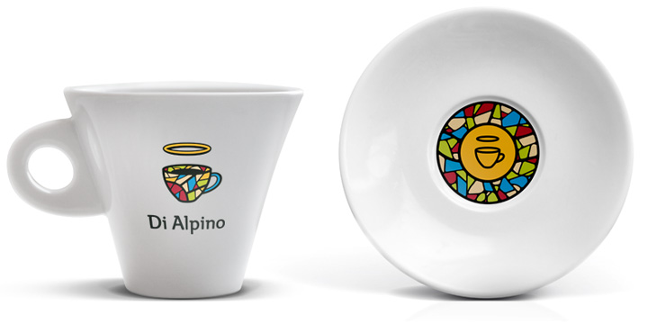 Cup and saucer set - Di Alpino