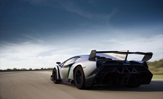 Combining fun and style with aerodynamics and stability - Lamborghini Veneno