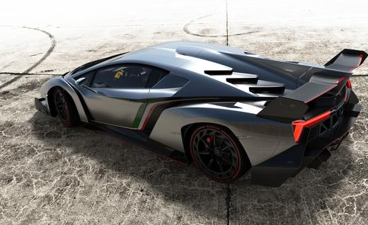 Lightweight and Innovative - Lamborghini Veneno