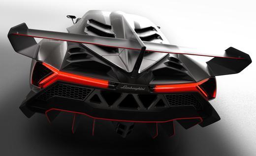 Cornering stability - Lamborghini Veneno