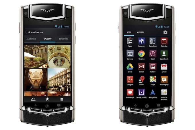The new Vertu Ti Android smartphone