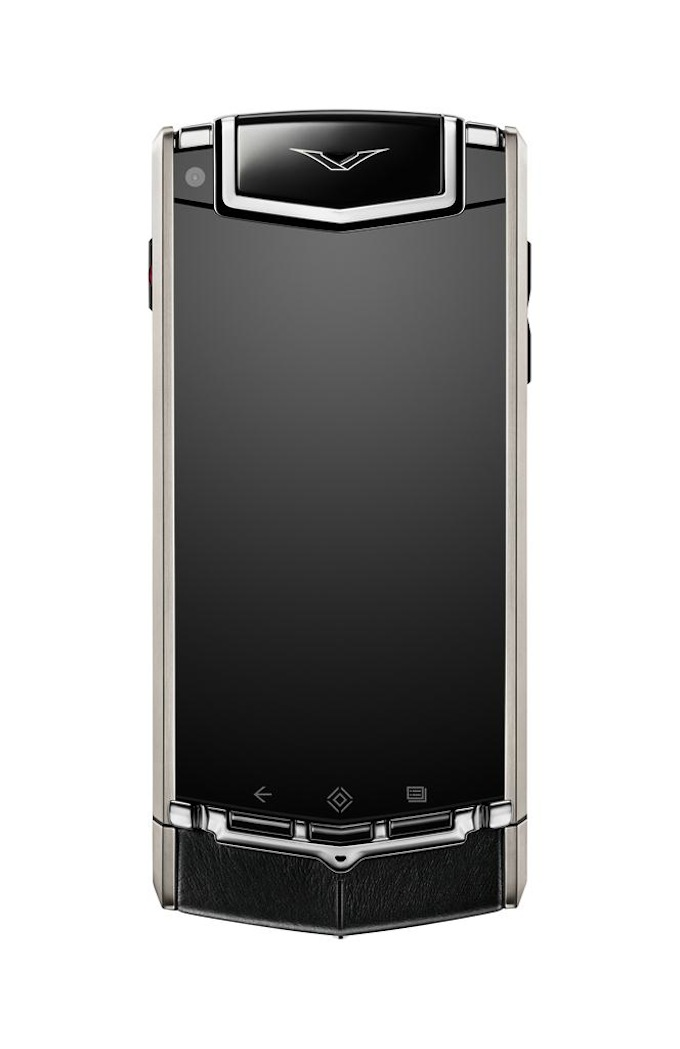 Durable titanium body - Vertu Ti Android