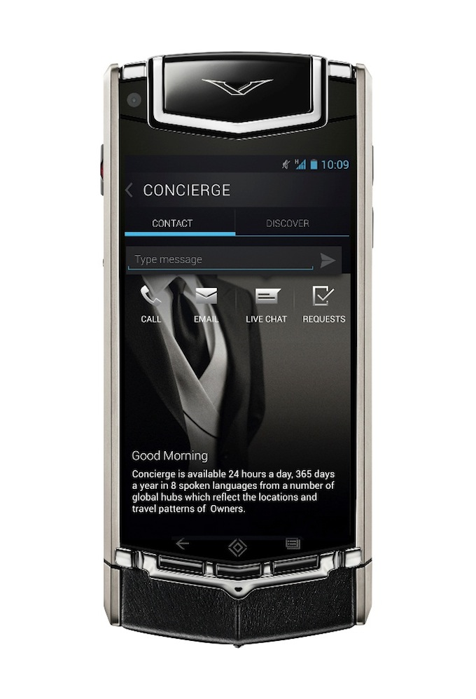 64GB internal memory - Vertu Ti Android